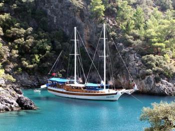 Marmaris to Fethiye Blue Cruises Turkey Package