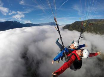 Tandem Paragliding in Benidorm Pack Pilot Package