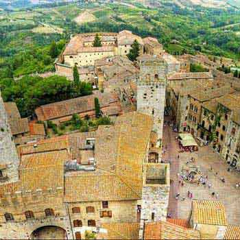 Tour of Siena & St. Gimignano Package