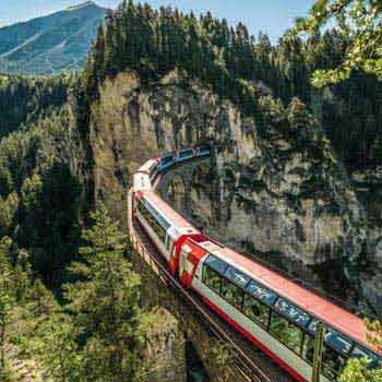 Scenic Alps By Rail Tour