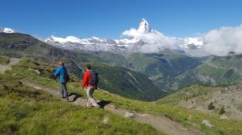 Europaweg - Grachen to Zermatt Tour
