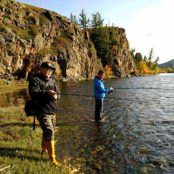 Fishing Tour in Mongolia
