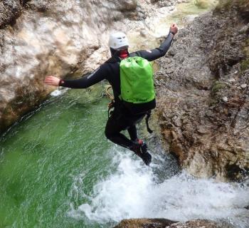Ultimate Canyoning Bovec - Canyoning Soča