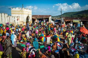 Halal or Muslim Pilgrimage Tours in Ethiopia to Sof Omar Dire Sheik Hussein Mosque Harar