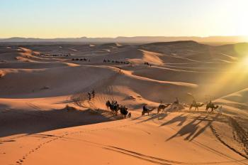 1day Trip & Night in Merzouga Desert Tour Package