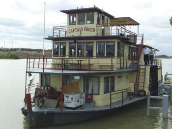 Boat Transfer Only to Paddle Boat Cruise Tour
