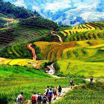 Trekking to Sapa Tour in Package