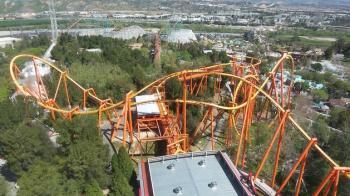 Six Flags Magic Mountain Tour