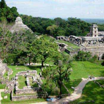 Mérida – Campeche – Palenque - Villahermosa Tour