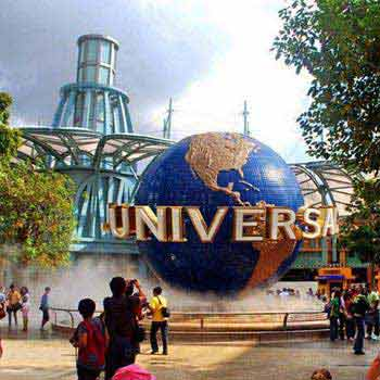 Singapore with Sentosa and Universal Studios Tour