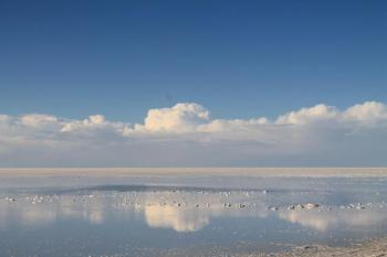 Sky Reflects Uyuni Salt Flats in Raining Season Package
