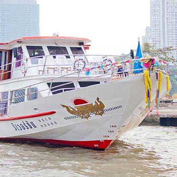 Full Day Ayutthaya Tour Go By Bus, Return By Cruise River Sun Cruise Package