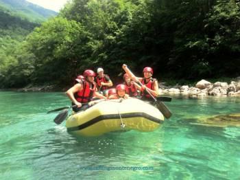2 Day Rafting On Tara River