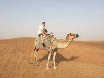 Camel Trekking in Dubai Tour
