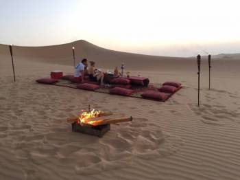 Romantic Dune Dinner Tour