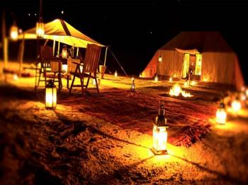 Overnight Desert Safari in Dubai Tour