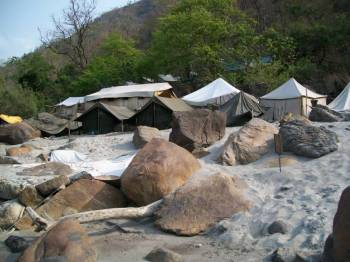 Camping in River Side in Uttarakhand Tour