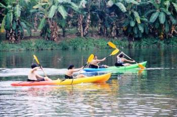 River Rafting in Pozhuthana Tour Package