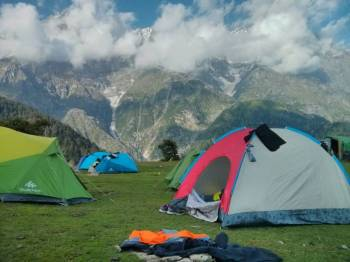 Family Camping At Mcleodganj Tour