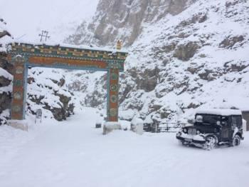 Frozen Spiti Road Trip