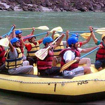 Brahmpuri, Rishikesh Half Day River Rafting Tour