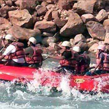 Brahmpuri to Ram Jhula River Rafting Tour