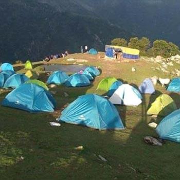 Camping – Trekking - Paragliding Tour