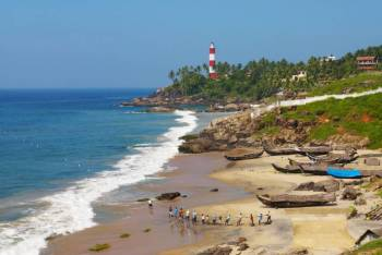 Kerala Romantic Beaches Tour