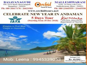 Andaman New Year Package