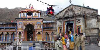 Do Dham Badrinath Kedarnath Helicopter Tour from Dehradun