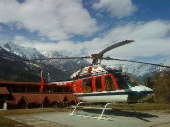 Kedarnath Helicopter Tour by Trans Bharat Aviation 1 Day