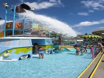 Drizzling Land (the Biggest Fun Park) Tour