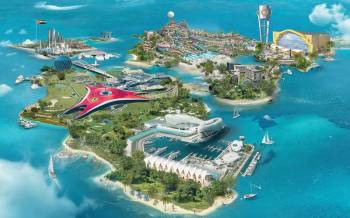 Dubai with Yas Island