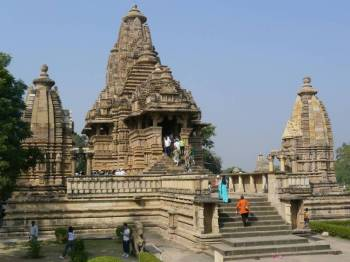 Golden Triangle Khajuraho Tour