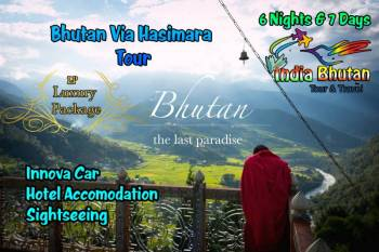 Bhutan Via Hasimara Tour