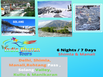 Superior Shimla & Manali 6 Nights / 7 Days Tour