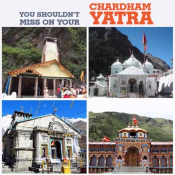 Char Dham Yatra from Jaipur