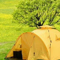 Air Conditioned Imported Alpine Tent in Kumbh Ujjain Tour