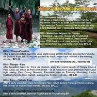 Panoramic Bhutan with dooars