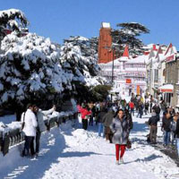 Shimla Tour with Golden Triangle