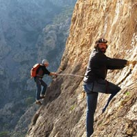 Mountain walking holiday at Asteroussia Mountain in Crete with Markos and cooking courses with Georg