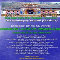Char Dham Group Package