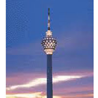 KL Tower Lunch - KL City Tour
