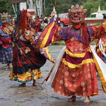 Jambay Lhakhang Drup - 11 nights/12days Tour