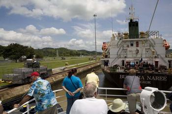 Panama Canal Partial Transit