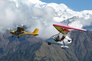 Ultra Light Flight Aircraft in Nepal Tour