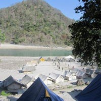 Beach camping ( 2nights) with one rafting stretch Tour