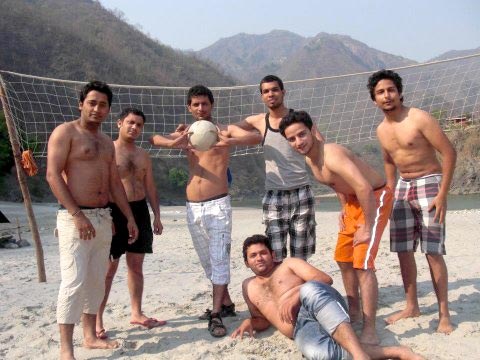 Rishikesh Rafting Beach Camps Tour