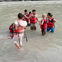 Rishikesh Rafting & Overnight Camping Package