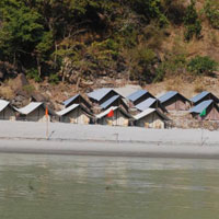 1Night Beach Camping with 16km/26km/36km Rafting Rishikesh Rafting Tour